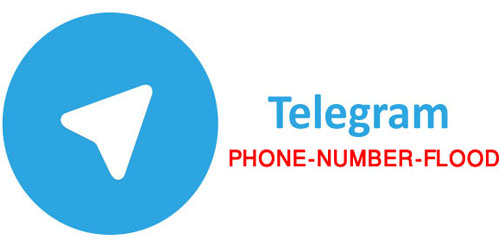 خطای تلگرام Phone Number Flood